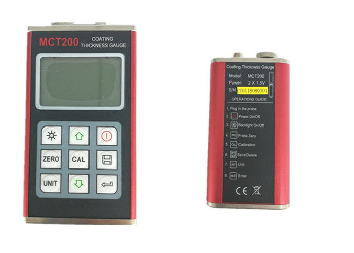 High Performance Ultrasonic Thickness Gauge Meter Low Battery Information